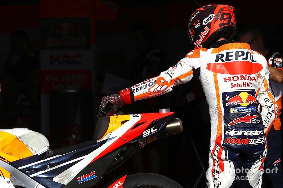 Ses problèmes physiques ont induit Márquez en erreur sur la moto 2020