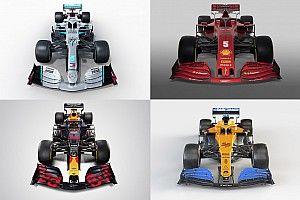 Todas las fotos de los pilotos de F1 y sus coches para 2020
