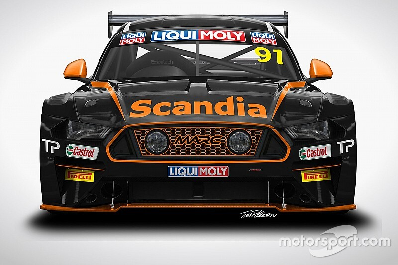 Percat to race MARC Mustang at Bathurst
