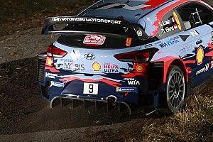 """WRC Hyundai a Monte-Carlo con un posteriore """"ibrido"""" delle i20"""