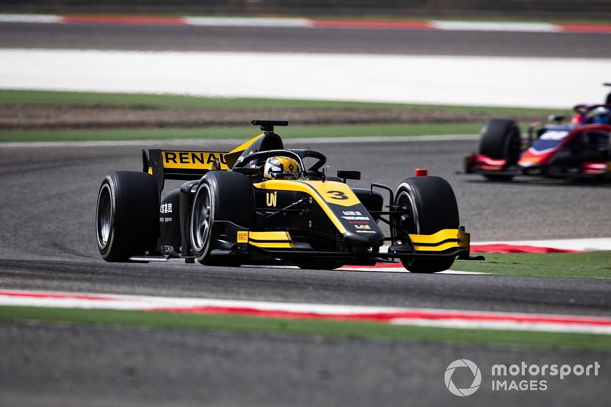 Red Bull Ring F2: Pole pozisyonu Zhou'nun!