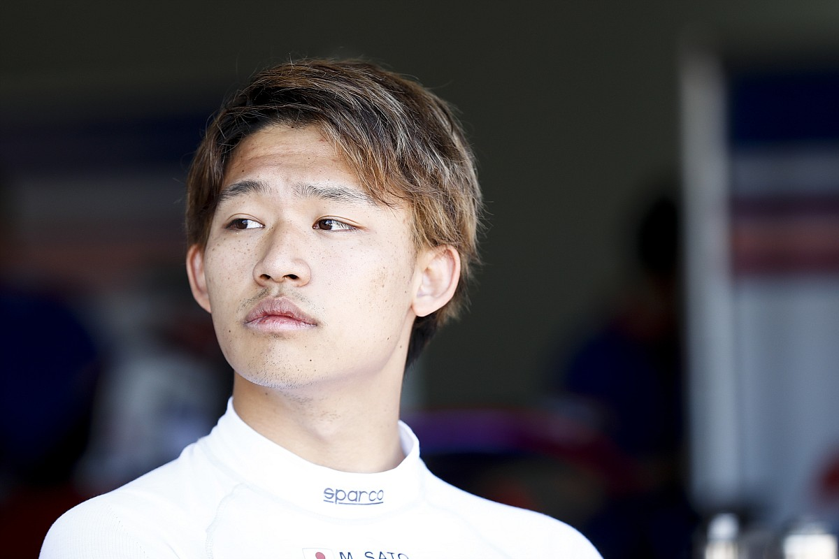 Sato vergezelt Tsunoda bij AlphaTauri tijdens rookietest