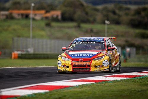 Coronel achtste na touché in eerste race FIA Motorsport Games