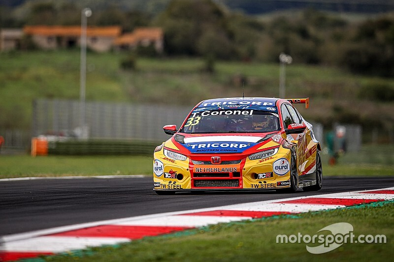 Coronel achtste na touché in eerste race FIA Motorsport Games