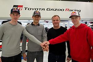 トヨタが2020年のWRCドライバーラインアップ発表。帝王オジェら加入で体制一新
