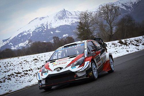 WRC Monte Carlo: Evans terug aan kop, Neuville nadert Toyota-duo