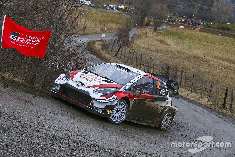 WRC, Monte-Carlo, PS10: un super Evans torna in testa alla corsa