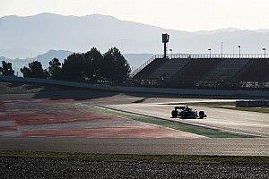 Tussentijden dag 1 Formule 1-test Barcelona: 12.00u