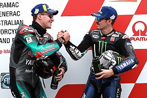 Quartararo confirmed at Yamaha alongside Vinales