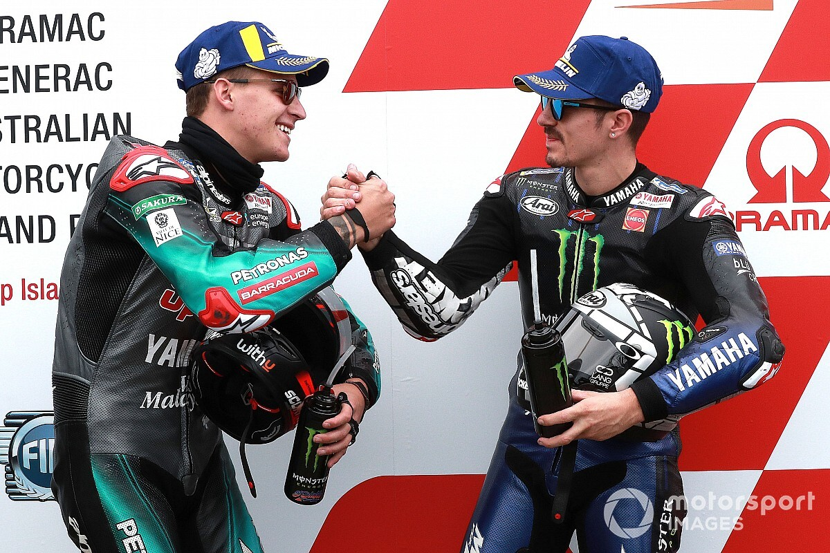 Vinales, not Quartararo, is the reference Yamaha - crew chief