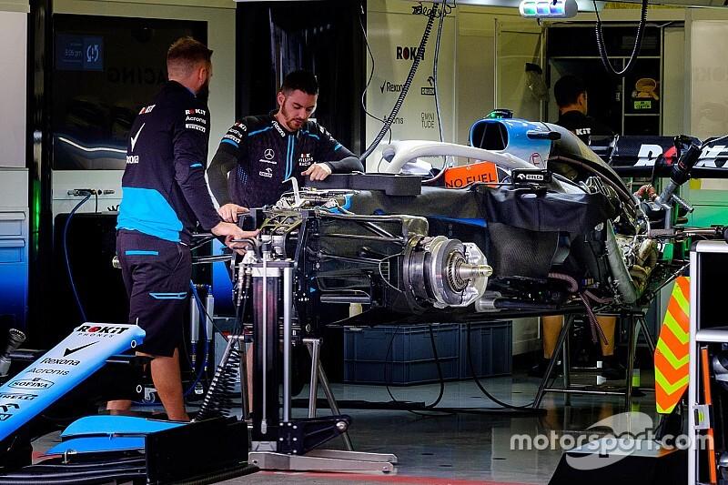 Williams запустила мотор новой машины FW43