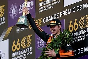 Verschoor wint Macau Grand Prix op fabelachtige wijze