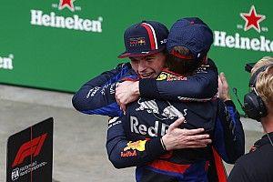 「信じられないほど素晴らしい結果」フェルスタッペン、ガスリーの2位を喜ぶ