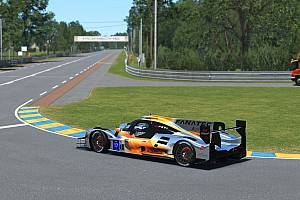 F1 stars Verstappen and Norris team up for virtual Le Mans bid