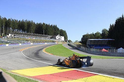 Corrida da F2 é cancelada após acidente assustador na Bélgica