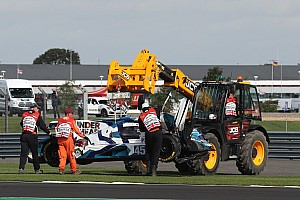 Carlin withdraws from Spa after Silverstone shunt