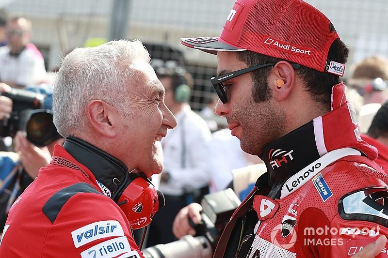 """Petrucci: """"Ho capito come guidare la Ducati in condizioni di poco grip"""""""