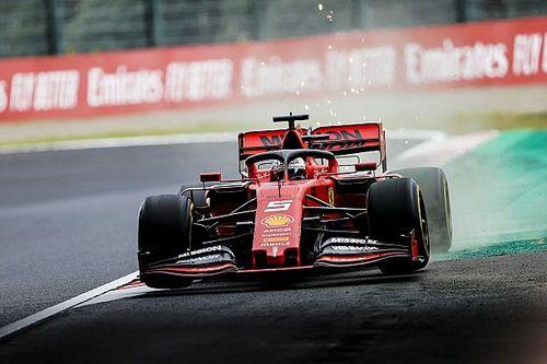 """Vettel: """"Noi calati? Forse le Mercedes hanno fatto uno step"""""""