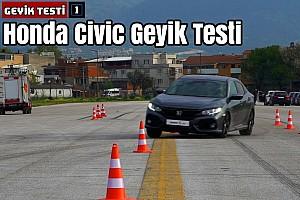 Honda Civic Geyik Testi