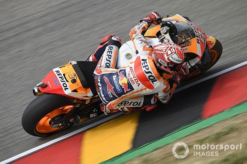 MotoGP Jerman: Marquez rajai Sachsenring, Quartararo jatuh