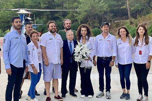 FIA Başkanı Jean Todt bir kez daha Marmaris'te