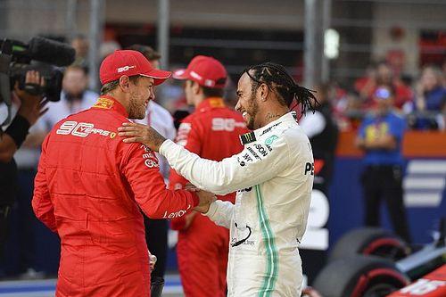 """Hamilton punge: """"Vettel non è più il numero uno in Ferrari"""""""