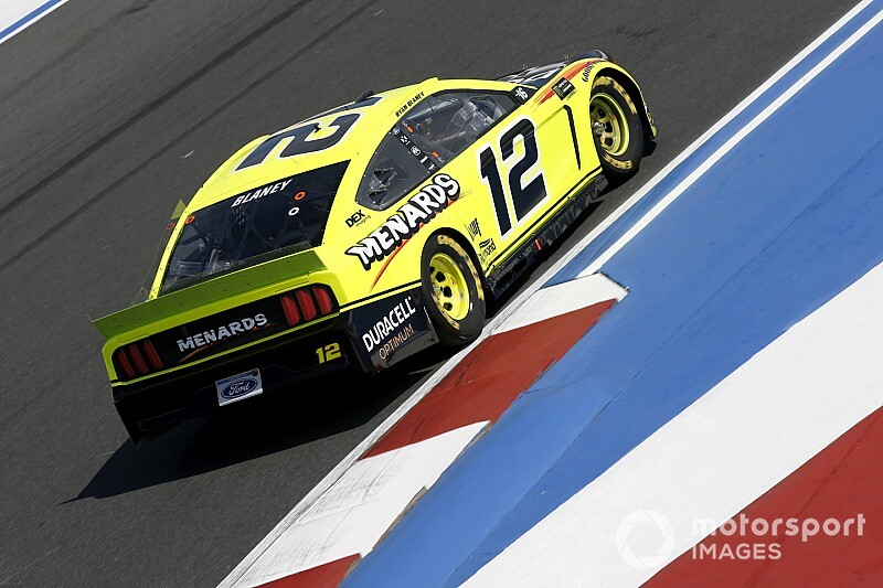 Ryan Blaney fastest in Saturday morning practice at Roval