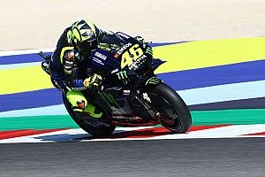 """Rossi """"surprised"""" to see all Yamahas fast in Misano"""
