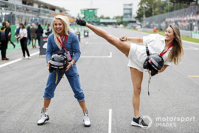 Őrülten nagy képgaléria Monzából, az F1-es szombatról