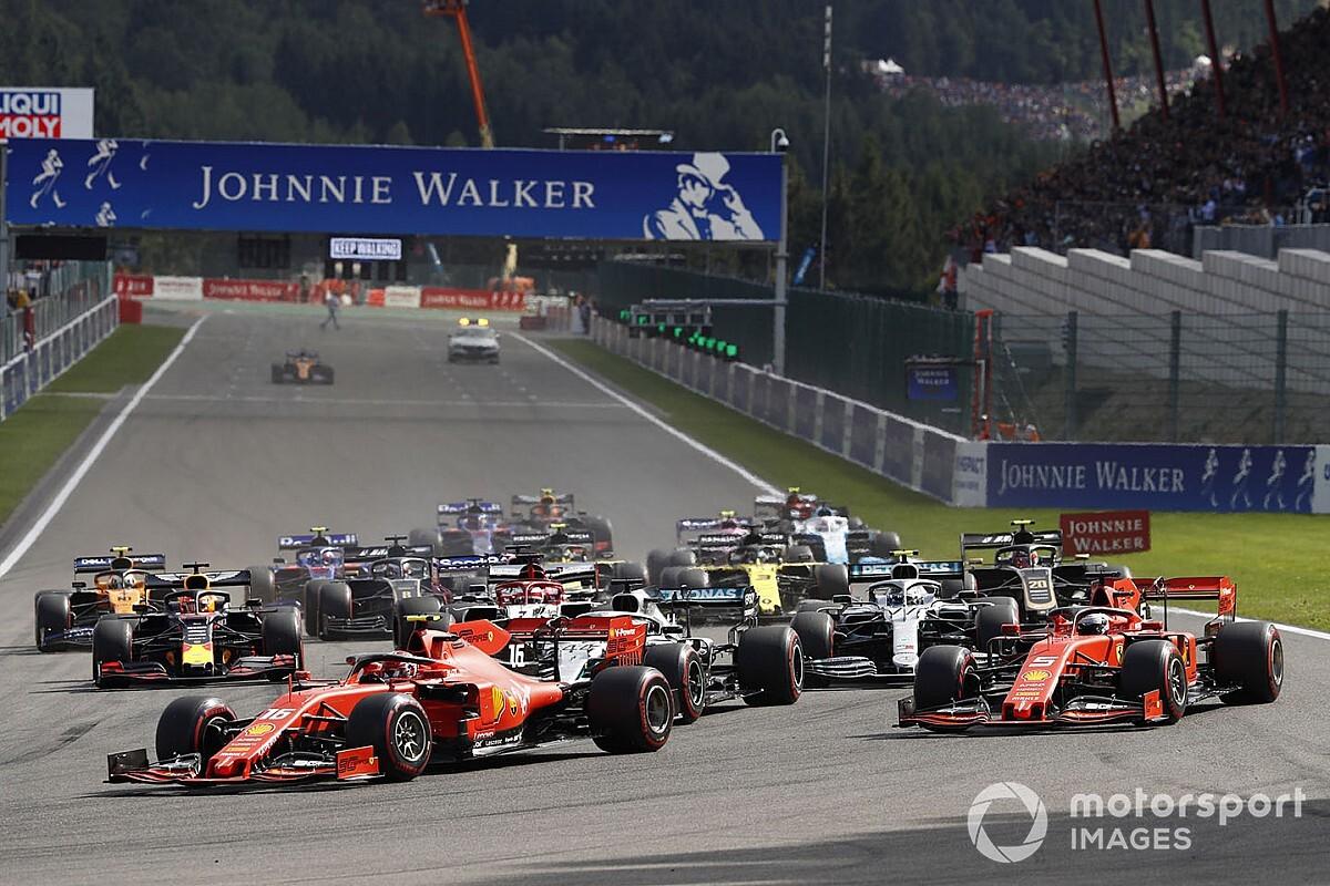 'GP de Bélgica en 4 apuntes', por Luis Manuel López
