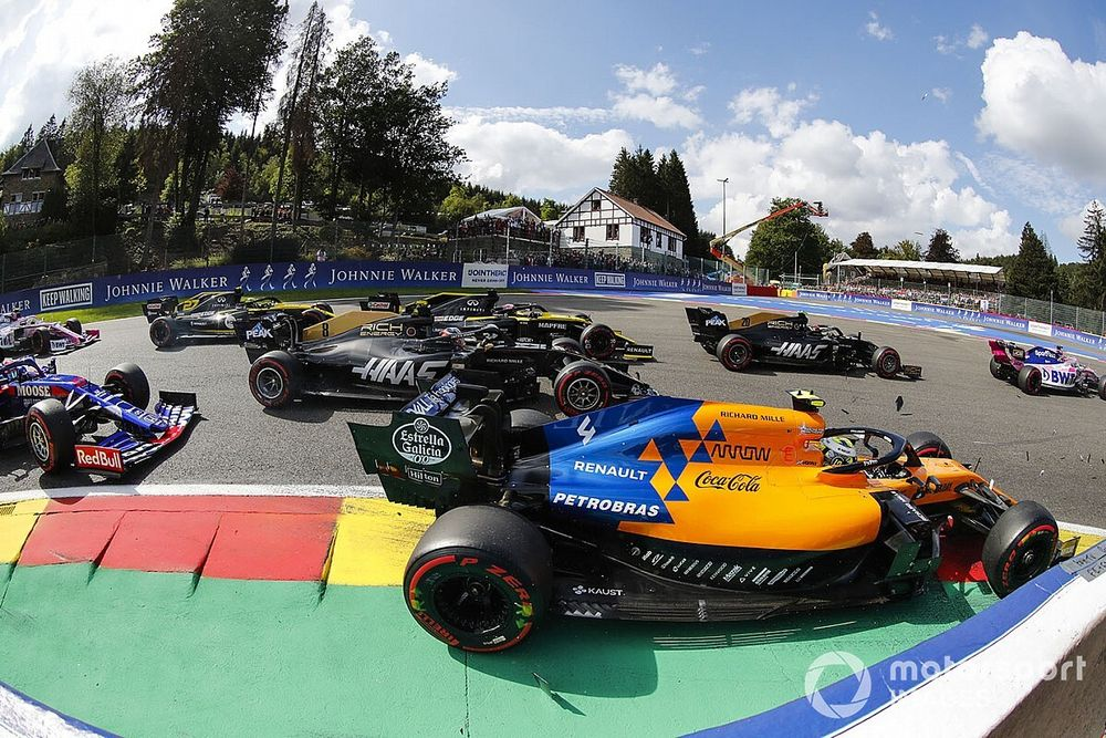 Horarios y dónde ver el GP de Bélgica de Fórmula 1
