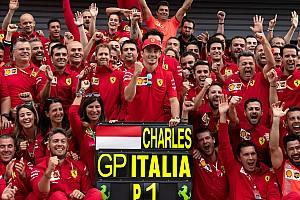 Leclerc: Had nooit durven dromen van mijn resultaten bij Ferrari