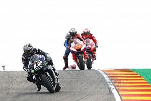 """Vinales: """"Non avevo alcuna possibilità con le Ducati sul dritto"""""""