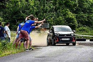 Krajnyák Petra nyerte a Kia Platinum Rally Cup harmadik fordulóját a Baranya-kupán
