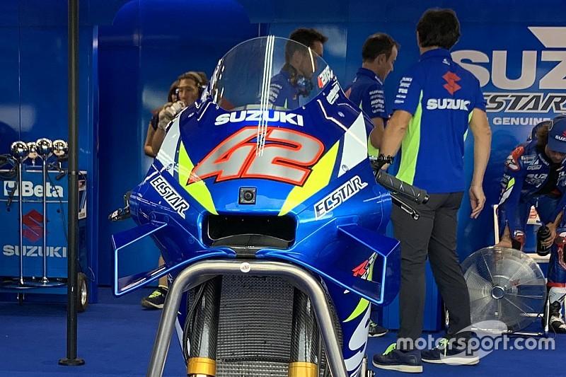 Rins valora positivamente el nuevo carenado de Suzuki (galería)