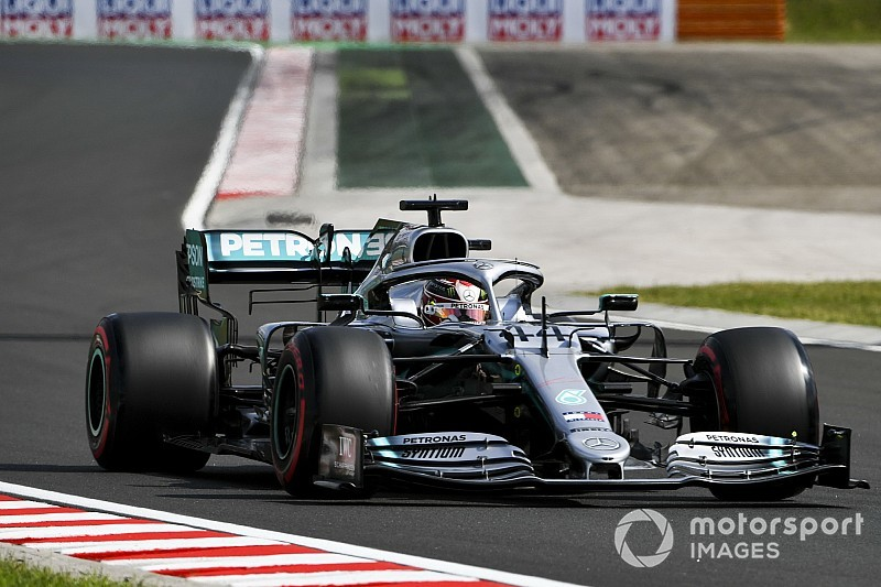 """Hamilton's pace """"plateaued"""" in qualifying """"struggle"""""""