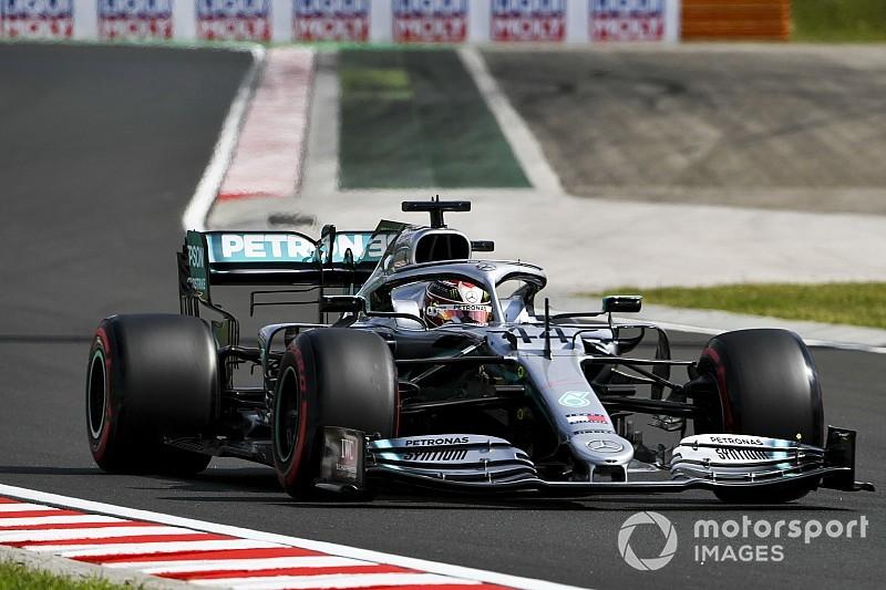 """Hamilton: """"Sufrí y el coche no mejoró en la clasificación"""""""