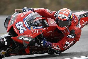 Brno MotoGP: Dovizioso leads Vinales in warm-up