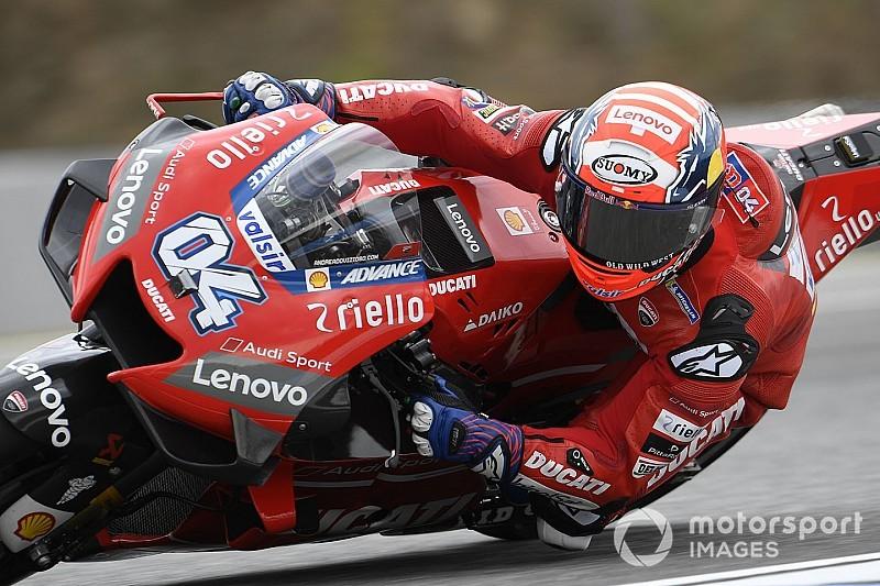 Brno MotoGP: Dovizioso leads Vinales in warm-up