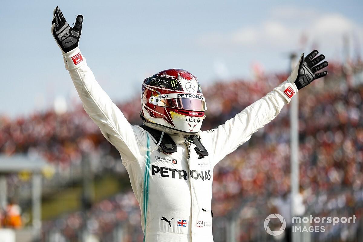 Statistieken - Hamilton op 10 zeges van record Schumacher
