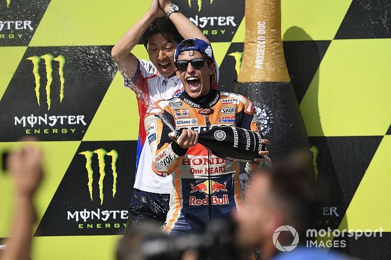 """Márquez: """"Antes de la carrera me estaba durmiendo, estaba muy tranquilo"""""""