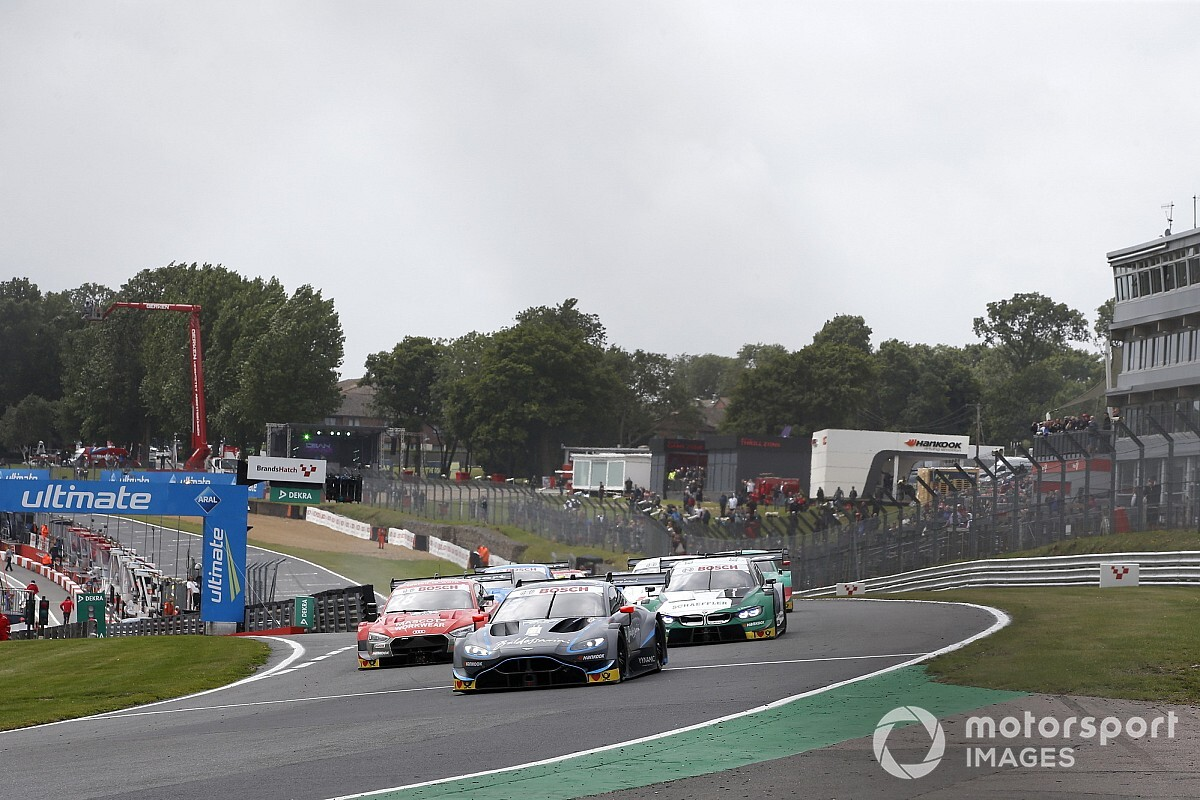 Di Resta adamant he didn't jump Brands Hatch start
