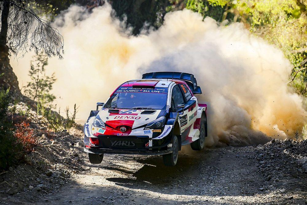 WRC Greece: Rovanpera holds slender lead over Tanak, Ogier