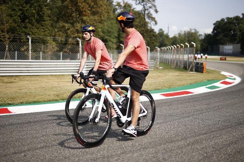 Las primeras fotos de la F1 en el mítico Monza