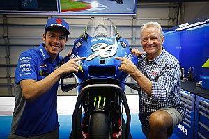 ミル、アメリカズGPでシュワンツをオマージュしたナンバーデザインを使用。リンスも特別ヘルメットに