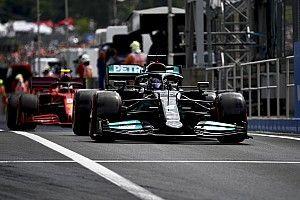 La parrilla de salida del GP de Hungría 2021 de F1