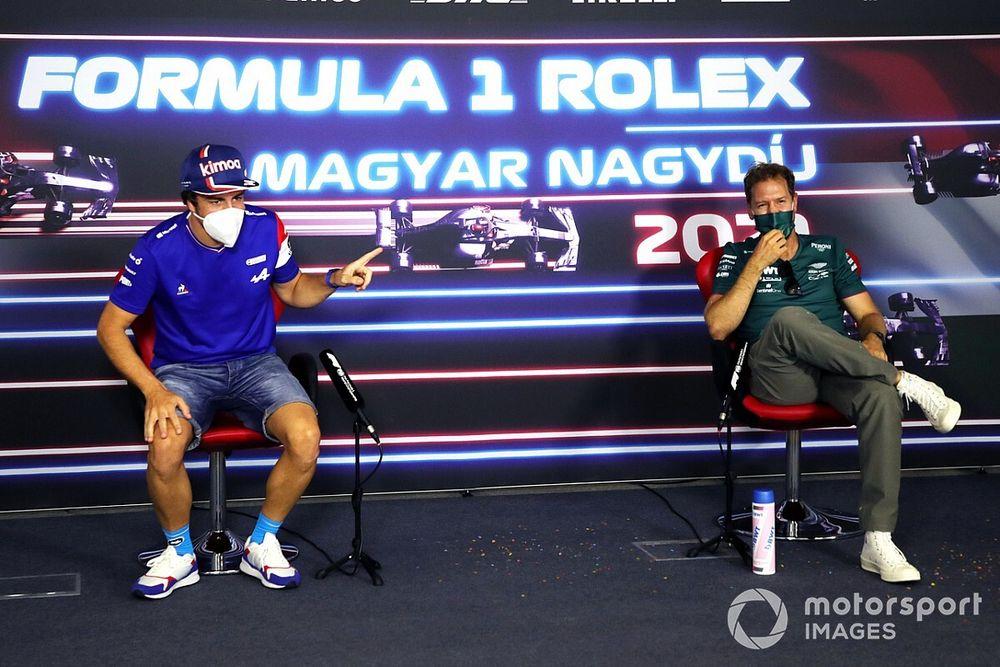 Vídeo: la sorpresa de Vettel a Alonso por su cumpleaños