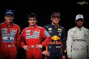F1: Ralf Schumacher diz que Verstappen e Hamilton o lembram Senna e Prost