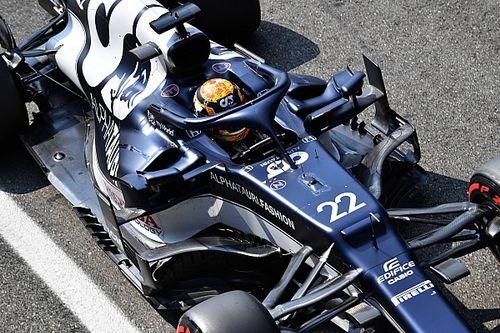 角田裕毅、F1イタリアGPはスタートできずにリタイア。ブレーキ面の問題か?