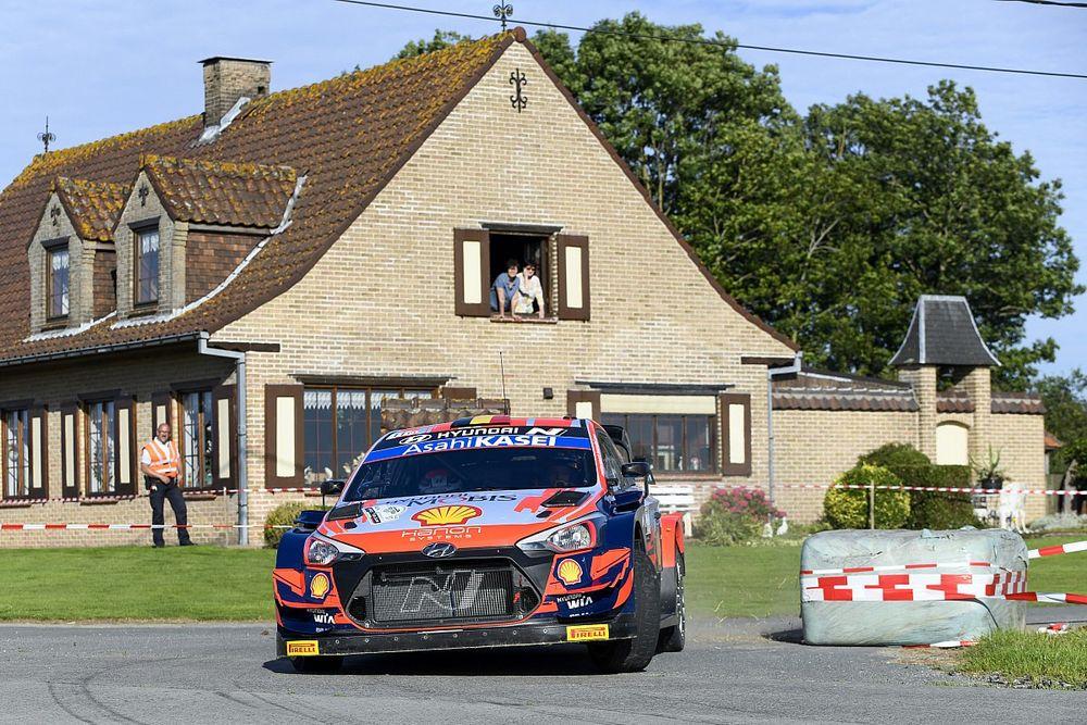 WRCベルギー:ヒュンダイのヌーヴィルが大差勝ち。勝田は2日目SS10でリタイア